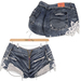 adorsy - Stella Denim Jeans Shorts Dark Blue - Maitreya