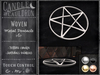 {C&C} Woven Metal Pentacle