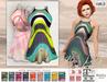cae.b - Miss Lillys Garden - dress with hud - ocacin, maitreya, fitmesh, belleza, slink