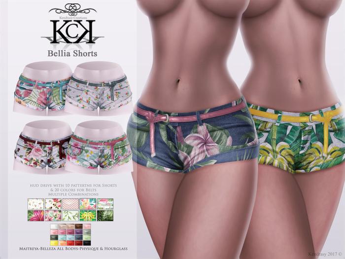 :::KC::: Bellia Shorts v2