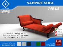 Sofá de Vampiro (Malla, PG, Poses, HUD)
