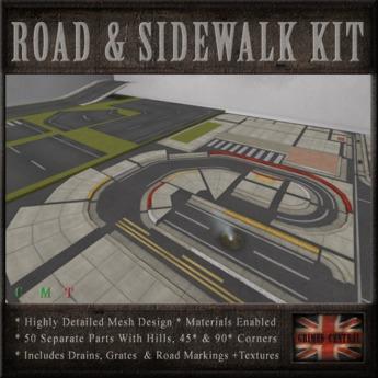 Road & Sidewalk Kit
