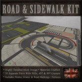 Road & Sidewalk Kit