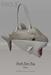 [tea.s] Shark Bate Bag - Grey