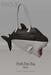Shark bate bag black