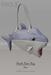 [tea.s] Shark Bate Bag - Blue
