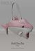 [tea.s] Shark Bate Bag - Pink