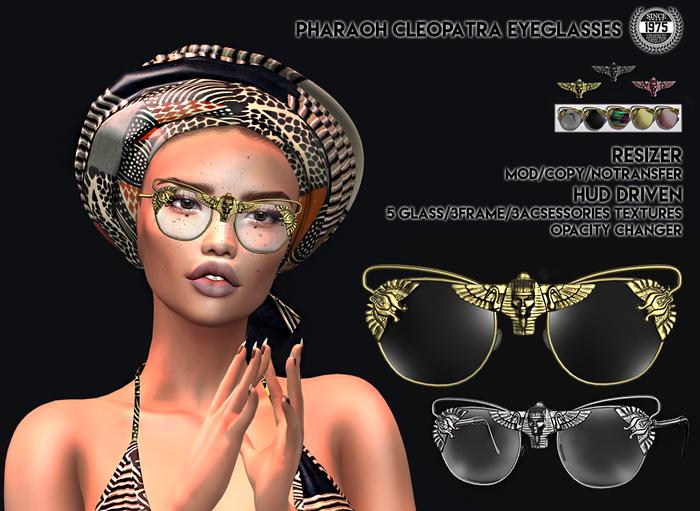 [Since1975]-Pharaoh Cleopatra Eyeglasses
