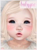 ~{Babygirl}~ Blush & Freckles Head Appliers & Tattoos Pack