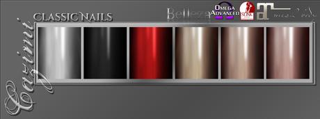 Cazimi: Nails - Classic 1L (Belleza, Maitreya, Omega, Slink)