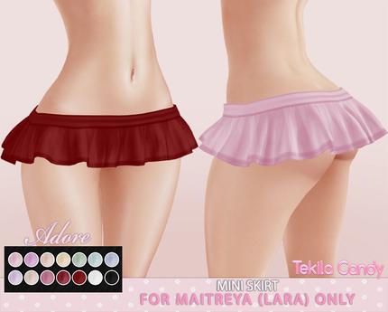 *TC* Adore Mini Skirt - Maitreya Lara
