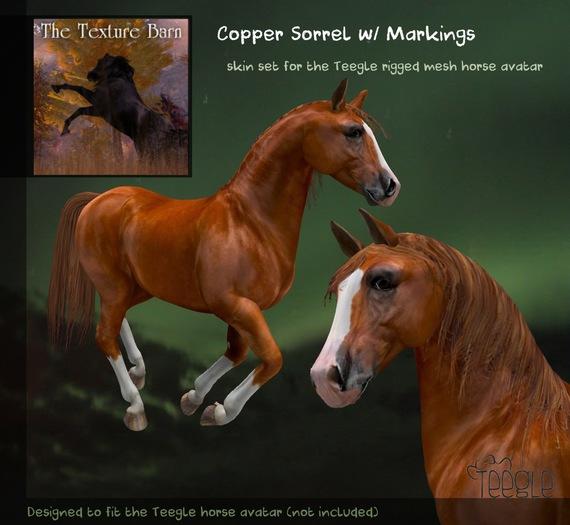 Teegle Texture Pack - Copper Sorrel - Texture Barn