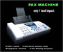 Fax poster