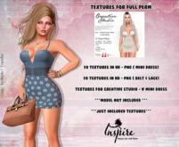 ::Inspire - Texture For  CREATIVE STUDIO - V Mini Dress ::