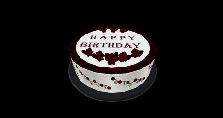 Magnificent Second Life Marketplace Goth Birthday Cake Funny Birthday Cards Online Inifofree Goldxyz