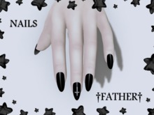 +FATHER+ Maitreya Black Nails
