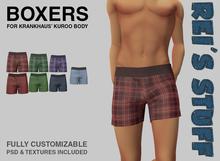 Rei's Stuff - Boxers for Kuroo v1.0