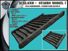 Icaland - Stairs Model 7