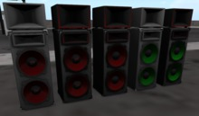 TX Animated Speaker FULL PERMS / RESELL -scripted- NOT TEXTURE!