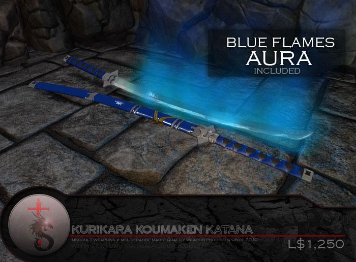 Second Life Marketplace Mkbcult Kurikara Koumaken Katana Ao