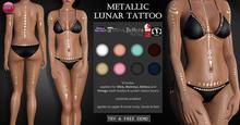 Izzie's - DEMO Metallic Lunar Tattoo