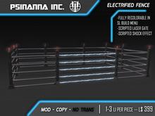 PsiNanna, Inc. Electrified Fence