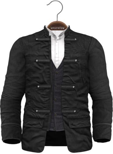 !APHORISM! - Wylie Military Jacket Black