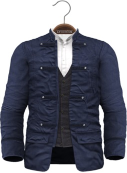 !APHORISM! - Wylie Military Jacket Blue