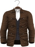 !APHORISM! - Wylie Military Jacket Brown