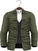 !APHORISM! - Wylie Military Jacket Green