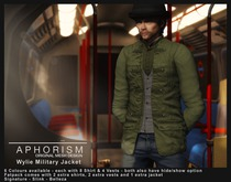 !APHORISM! - Wylie Military Jacket DEMO