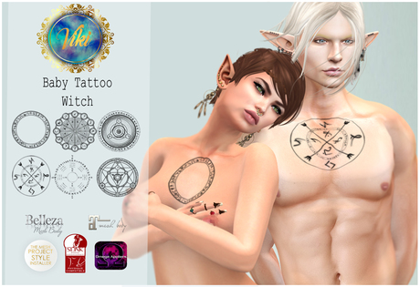 .Viki. Baby Tattoos - Witch