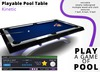 Playable Pool Table: Kinetic