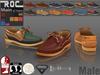 ::ROC:: Boat Shoes Male
