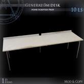 (Box) General 3m desk