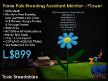 [TB] Ponie Monitor Flower v1 - (boxed)