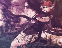 *!R.O!* Huntress BENTO Pose w/ Mesh Bow & Arrow