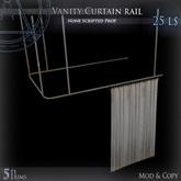 (Box) Vanity Curtain rail