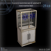 (Box) Small medical Cabinet