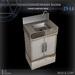 (Box) Small hand wash basin
