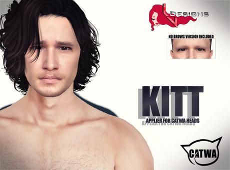 ::LV:. Kitt Applier for Catwa Mesh Heads