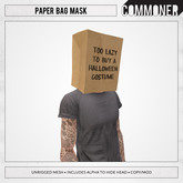 [Commoner] Paper Bag Mask