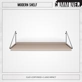 [Commoner] Modern Shelf / Clay