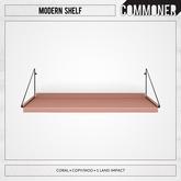 [Commoner] Modern Shelf / Coral