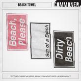 [Commoner] Beach Towel