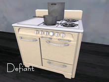 Defiant stove