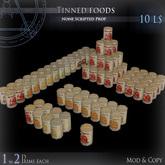 (Box) Tinned foods
