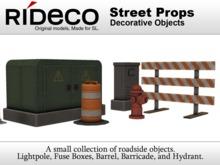 RiDECO - Street Props