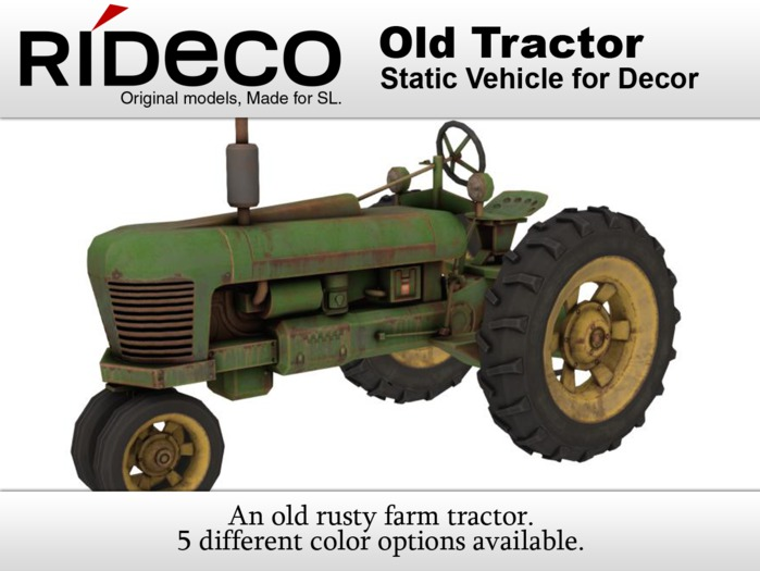 RiDECO - Old Tractor
