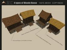 [Dolphin Design] 4 woodn beach  house